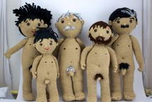 crochet perosnajes