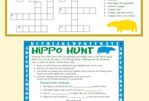 Activities / Fun activities for parents and teachers to share with their little animal-lovers!