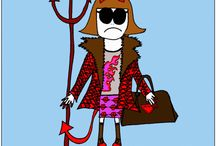Fashion, Humor & Wisdom / Some wise, funny and true observations about life, style and fashion- funny #fashion cartoons and fashion quotes.