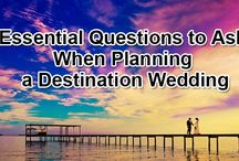 Essential Questions to Ask When Planning a Destination Wedding / To make planning your destination nuptials easier, there are some questions you should ask the resort or mobile wedding planner to ensure your wedding goes according to plan.  http://www.kimberleyandkev.com/essential-questions-ask-planning-destination-wedding/