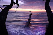 Sunset and sunrire