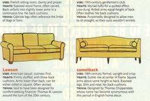 kanapé stílusok