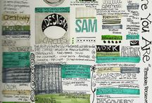 Art Journal Inspiration / Tips, tutorials, and art journal examples. / by Lillian Connelly