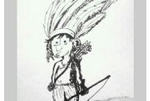 My 2d & 3d Doodles / By Christina Chun