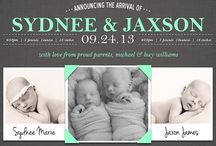 Twin Birth Announcement Ideas