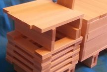 Wooden building blocks / Fundera (Ikea) and other wooden building blocks