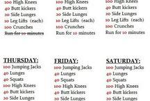 Exercise mon-fri