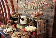 decoracion de mesa de dulces