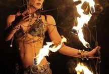 Bellydance fire