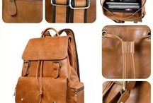 School Bag Genuine Leather BackPack Rucksack College Student Laptop Travel Bag