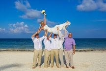 Bridal Party / Photos taken of wedding bridal party by Beach Wedding Studio at Excellence Resorts