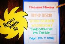 Morning Ideas for the Classroom / by Chloe Washington