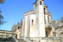 Tomar, Portugal / Photos of the Portugese town on Tomar, location of the Convento de Cristo built by the Knights Templar.