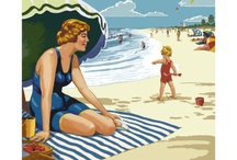 Vintage travel posters / by Joanne Empens