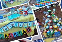 Logans 5th Birthday Party / Trains / by Crystal Kelso-Paddock