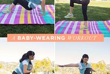 post-pregnancy health / workouts, food, lifestyle
