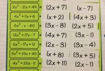 Equations/ Algebra I & II / Math 7th - 9th grade