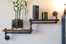 RuRkoWe LoVe / Pipe shelfs etc.