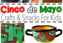 Cinco de Mayo with Kids / Activities, songs, dance and crafts to celebrate Cinco de Mayo with kids. / by White House Nannies