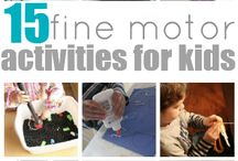 Fine motor ideas/boxes