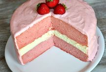 Baking Cake - Interior / Inspirational recipes for whatever edible to put inside a cake!