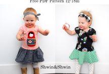 Free Patterns {Girls}