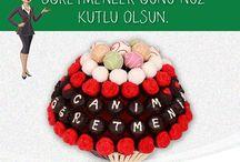 Öğretmenler Günü Hediyesi - Özel Gün Çikolataları / Özel Gün için Gönderim amacınıza uygun çikolatalar Sekercity.com'da. Öğretmenler gününe özel hediye çikolata