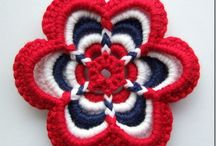 Crochet - garlands