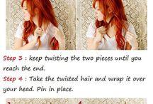 ♥Tutoriales de peinados♥