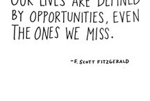 Writer: F Scott Fitzgerald / Quotes