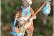 Paper mache Easter - celebrate spring! / Paper mache easter crafts