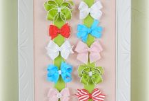 Crafting - flowers, bows, headbands and barrettes