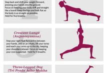 Yoga and other workouts