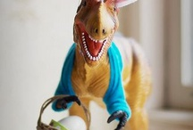 Easter Dinosaurs / With Easter coming soon, what better way to celebrate than by adding some dinosaurs to the fun!!
