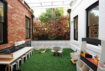 Courtyard play yard