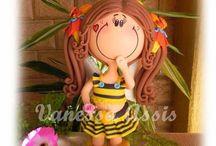fofuchas abejas / by maria jesus polo fernandez