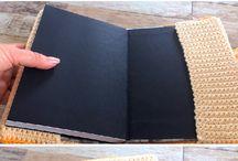 livros com capas em crochet