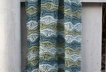 Knitting blanket