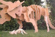 Wood skeleton