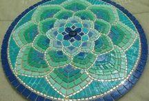 Mandalas mosaicos