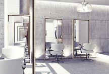 Salon X / Secret inspiration board for new salon concept.