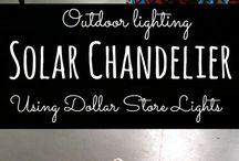Lampen und Lichterideen