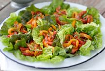 Fresh Salads / Full of green goodness and fresh flavors -- salad is for any occasion.