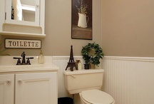 Mom's french powder room