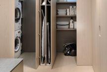 LAVADEROS PLANCHA / Propuestas de habitación lavadero y sala de plancha