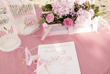 Flowers and Decor for baby girl baptism