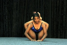 bikram. Double legs behind the head
