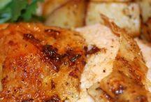 Roast rotisserie chicken