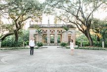 Adam + Jaclyn Classy Vizcaya Engagement Photos Coral Gables / This photography session takes us to the vintage side of Coral Gables for another set of romantic Vizcaya engagement photos
