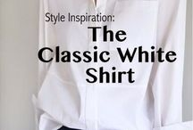 "I LOVE A WHITE SHIRT / White shirts, blouses, pullovers...go with Anything!   THEY Are A CLASSIC!  I have to admit, I am a ""Sucker"" for a crisp White Shirt....It's my ""Go Too"" fashion...I probably have over 25 different styles hanging in my closet right now...TIMELESS"